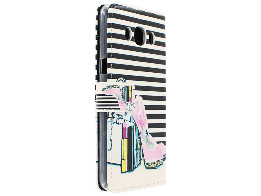 Fashion Bookcase - Samsung Galaxy J5 2016 hoesje