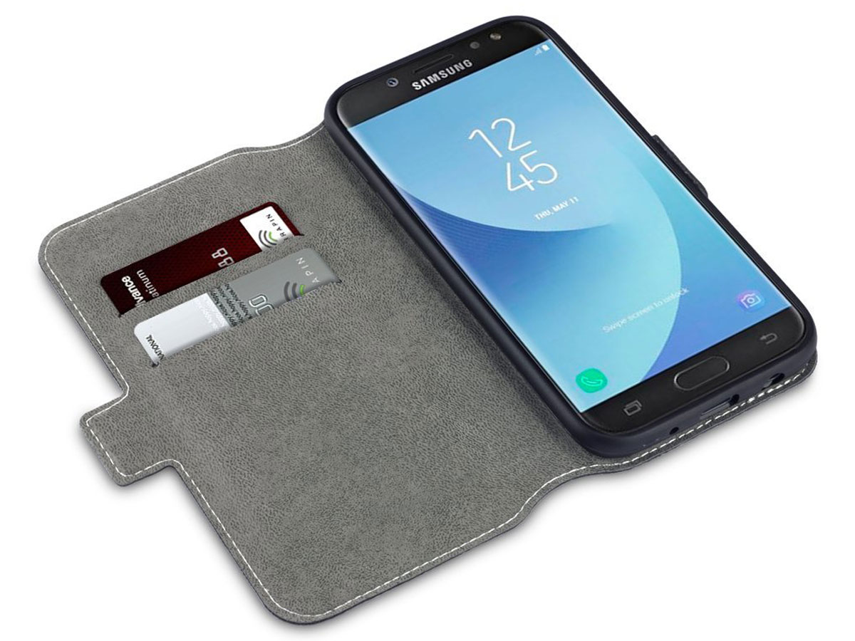 Covert Slim Bookcase - Samsung Galaxy J5 2017 hoesje
