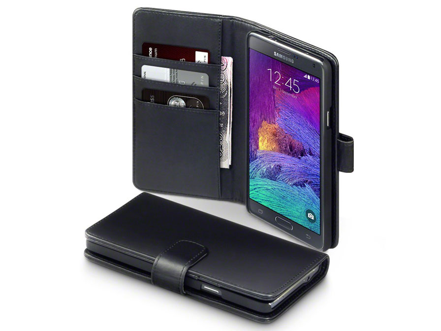 CaseBoutique Leather Wallet Case - Samsung Galaxy Note 4 Hoesje