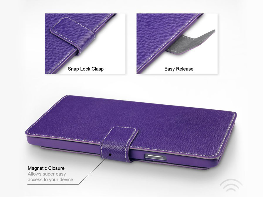 Covert UltraSlim Book Case - Samsung Galaxy Note 4 hoesje