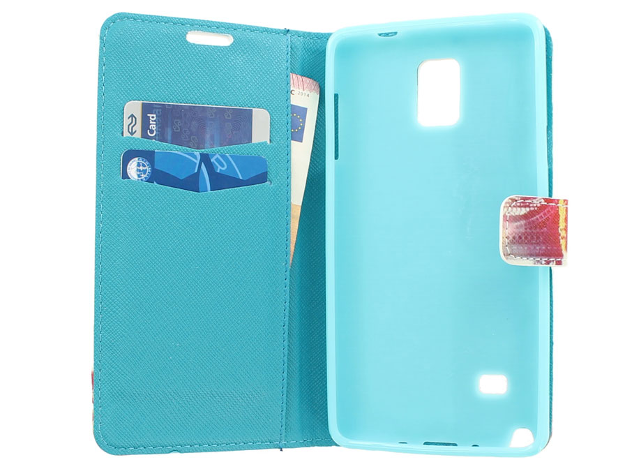 Paris Eiffeltoren Book Case Hoesje voor Samsung Galaxy Note 4