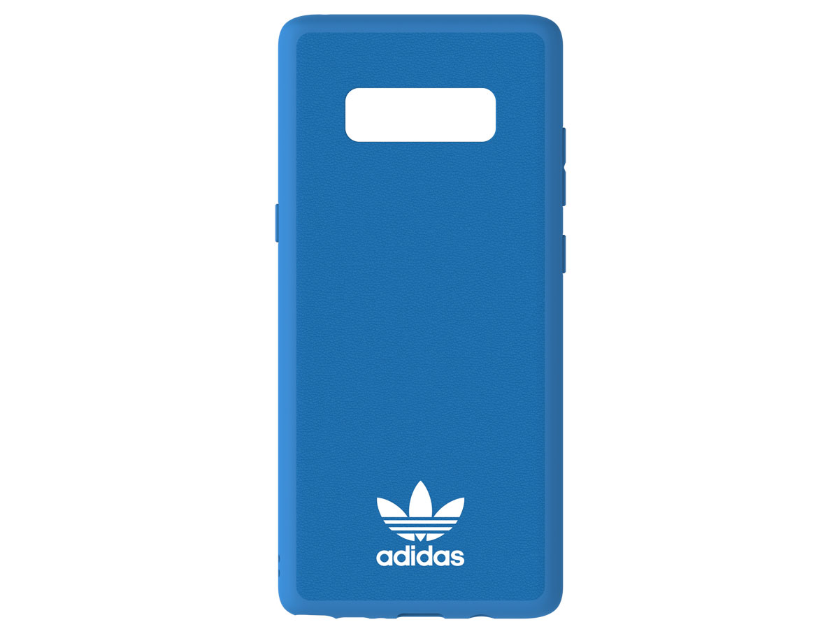Adidas Moulded TPU Case Blauw - Galaxy Note 8 hoesje
