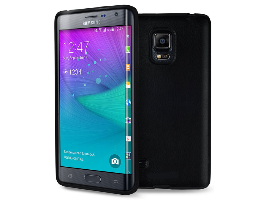Frosted TPU Soft Case - Hoesje voor Samsung Galaxy Note Edge