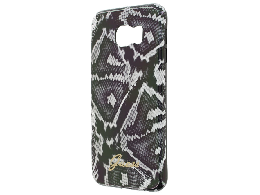 Guess Snake TPU Case - Samsung Galaxy S6 Edge Hoesje