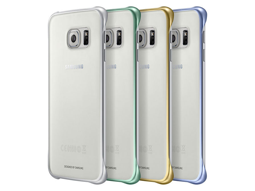 big sale bd9f1 8b774 Samsung Galaxy S6 Edge Clear Cover - Origineel hoesje (EF-QG925B)