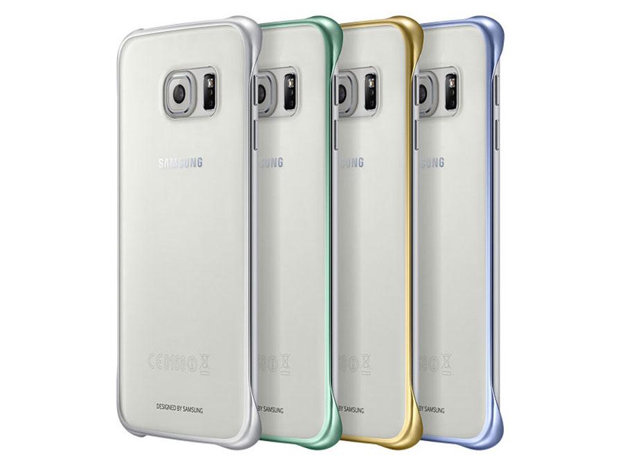 big sale 27f92 65b19 Samsung Galaxy S6 Edge Clear Cover - Origineel hoesje (EF-QG925B)