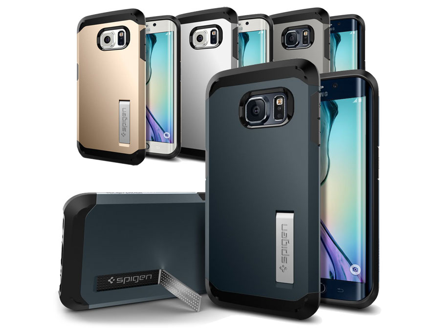 Spigen Tough Armor Case Rugged Samsung Galaxy S6 Edge Hoesje