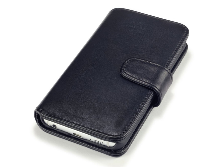 CaseBoutique Leather Wallet Case - Samsung Galaxy S6 Edge hoesje
