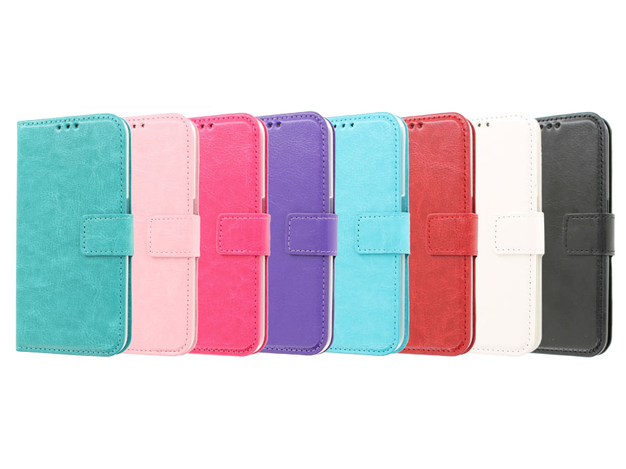 wallet book case hoesje voor samsung galaxy s6 edge