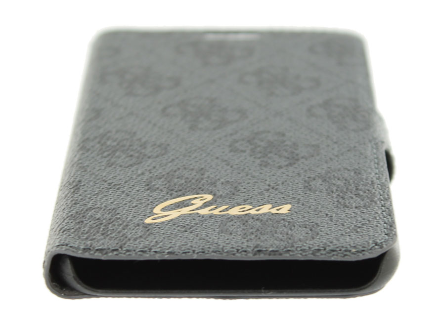 Guess Monogram Folio - Book Case Hoesje voor Samsung Galaxy S6