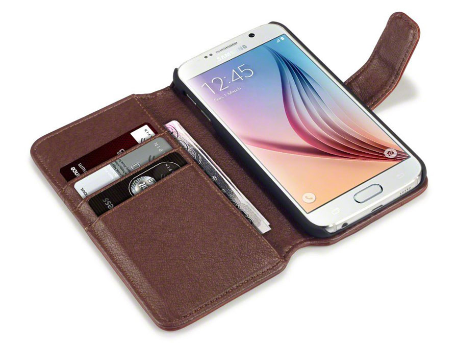 CaseBoutique Leather Wallet Case - Samsung Galaxy S6 hoesje