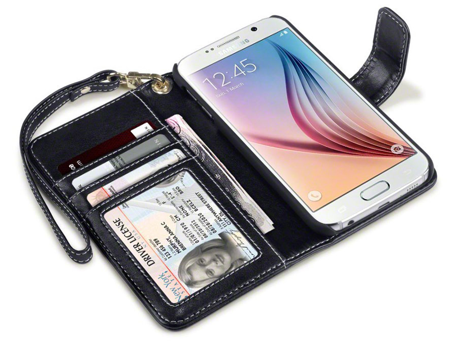 CaseBoutique Gracey Wallet Case - Samsung Galaxy S6 Hoesje