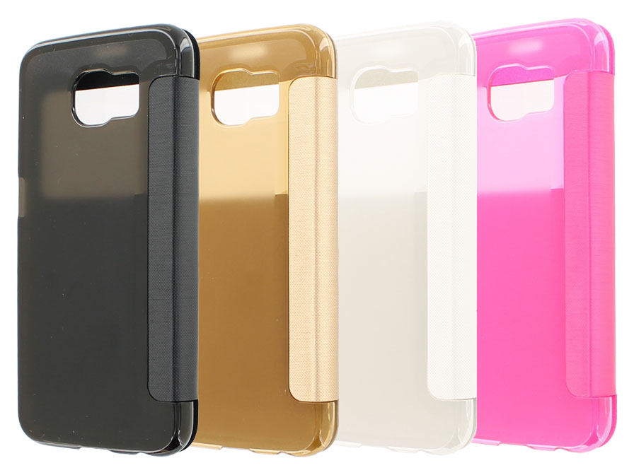 Color View Sideflip Case Hoesje voor Samsung Galaxy S6