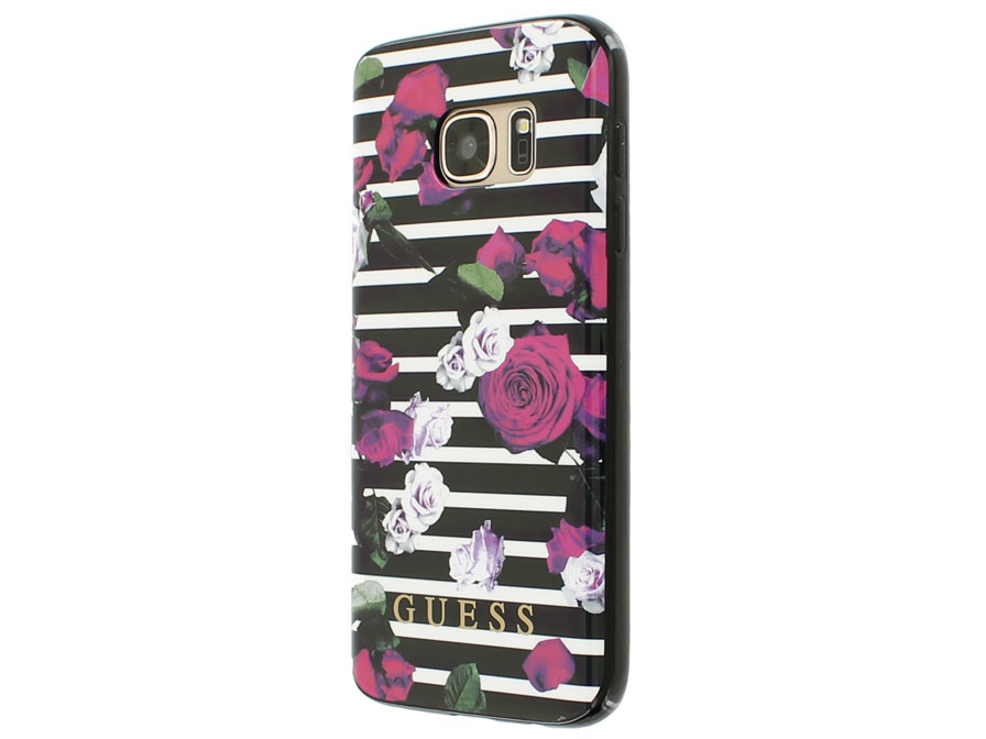 Guess Roses TPU Case - Samsung Galaxy S7 hoesje