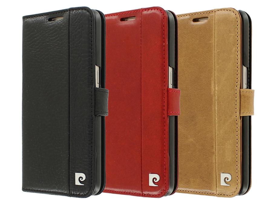 Pierre Cardin Bookcase - Samsung Galaxy S7 hoesje Bruin