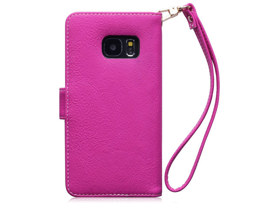CaseBoutique Lily Book Case - Samsung Galaxy S7 hoesje