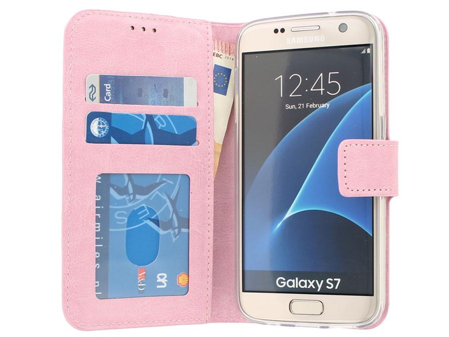Hoesje Met Licht : Wallet book case samsung galaxy s hoesje roze
