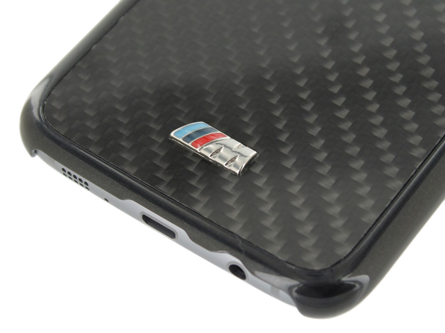 BMW M Carbon Hard Case - Samsung Galaxy S7 Edge hoesje