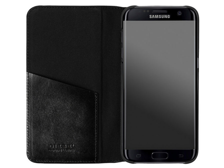 Diesel Leather Case - Samsung Galaxy S7 Edge hoesje
