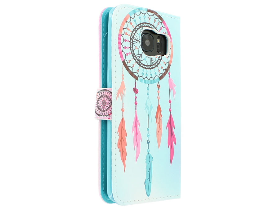 Dreamcatcher C Bookcase - Samsung Galaxy S7 Edge hoesje