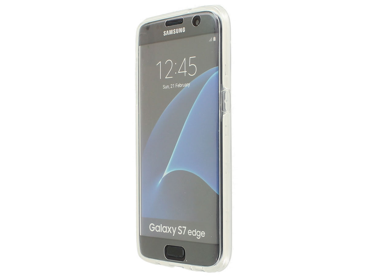 Crystal 360 TPU Case - Samsung Galaxy S7 Edge hoesje