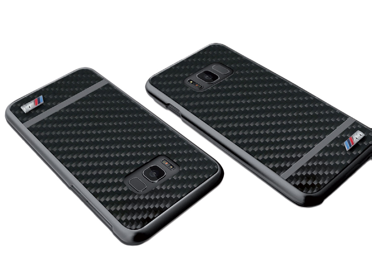 BMW M Carbon Hard Case - Samsung Galaxy S8 hoesje