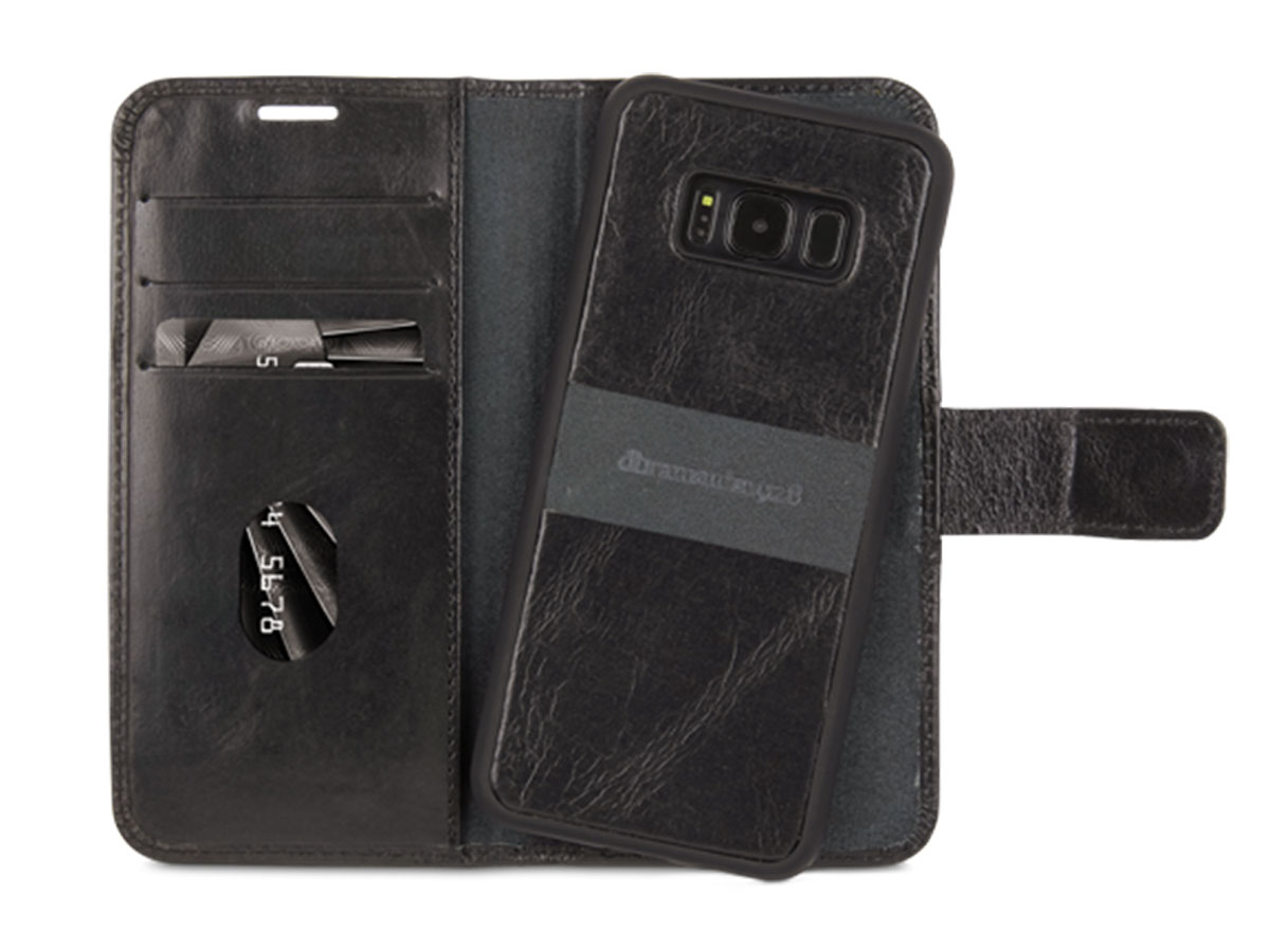 Dbramante Lynge 2 in 1 Case - Galaxy S8 hoesje (Zwart)