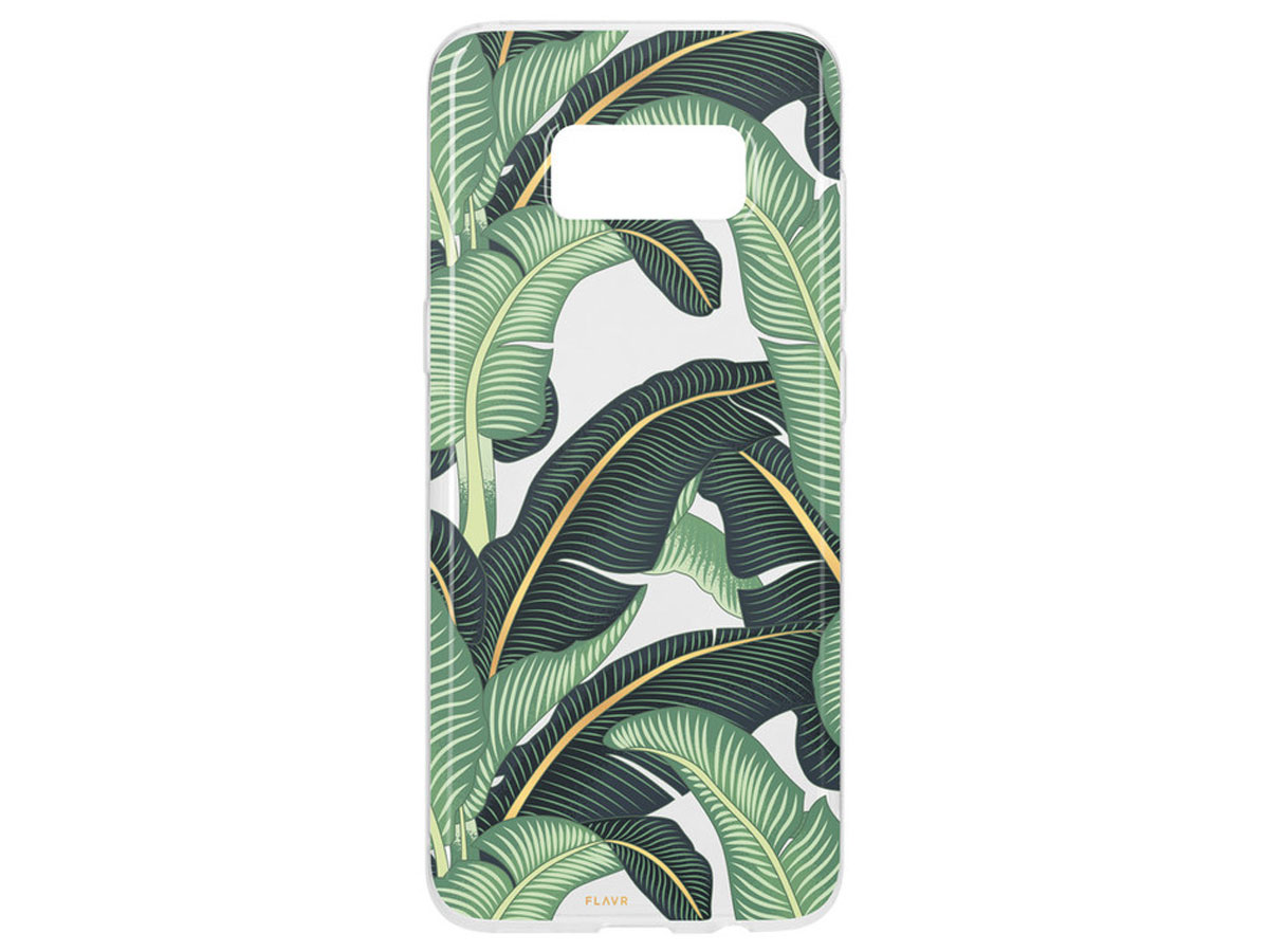 FLAVR Banana Leaves Case - Samsung Galaxy S8 hoesje