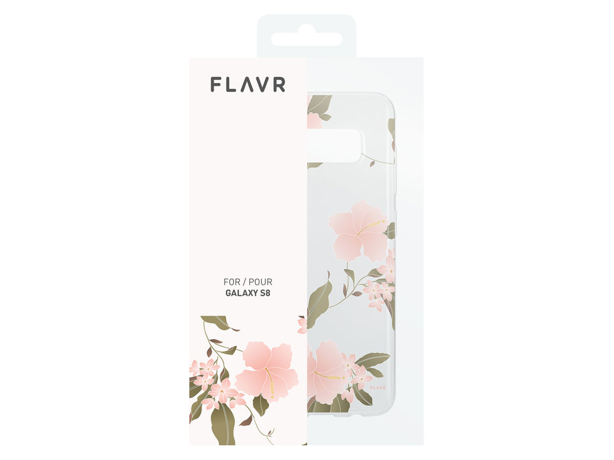 FLAVR Hibiscus Case - Samsung Galaxy S8 hoesje