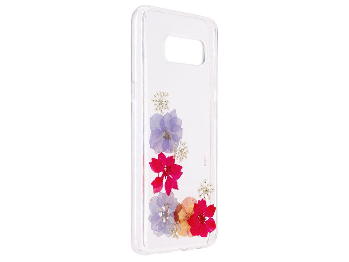 FLAVR Real Flower Amelia - Samsung Galaxy S8 hoesje Transparant