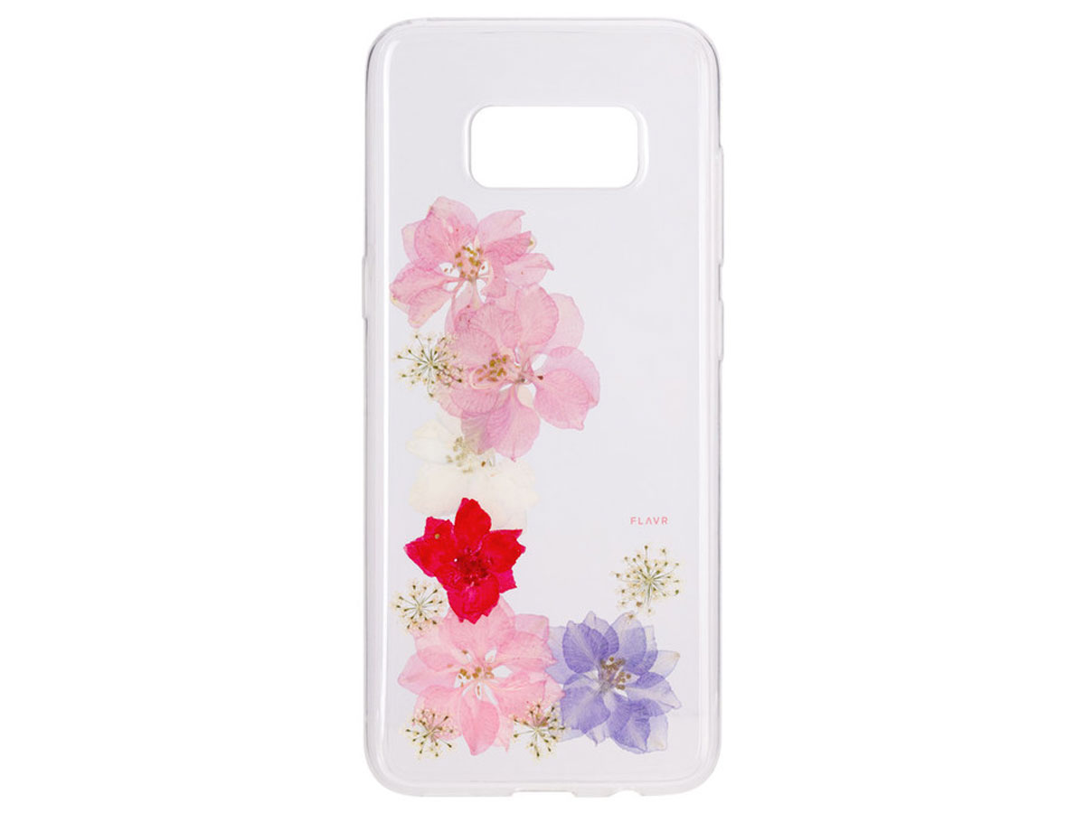 FLAVR Real Flower Grace - Samsung Galaxy S8 hoesje