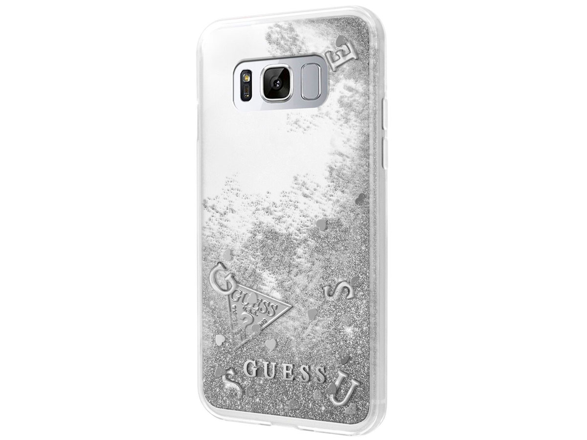 Guess Floating Logo Case - Samsung Galaxy S8 hoesje