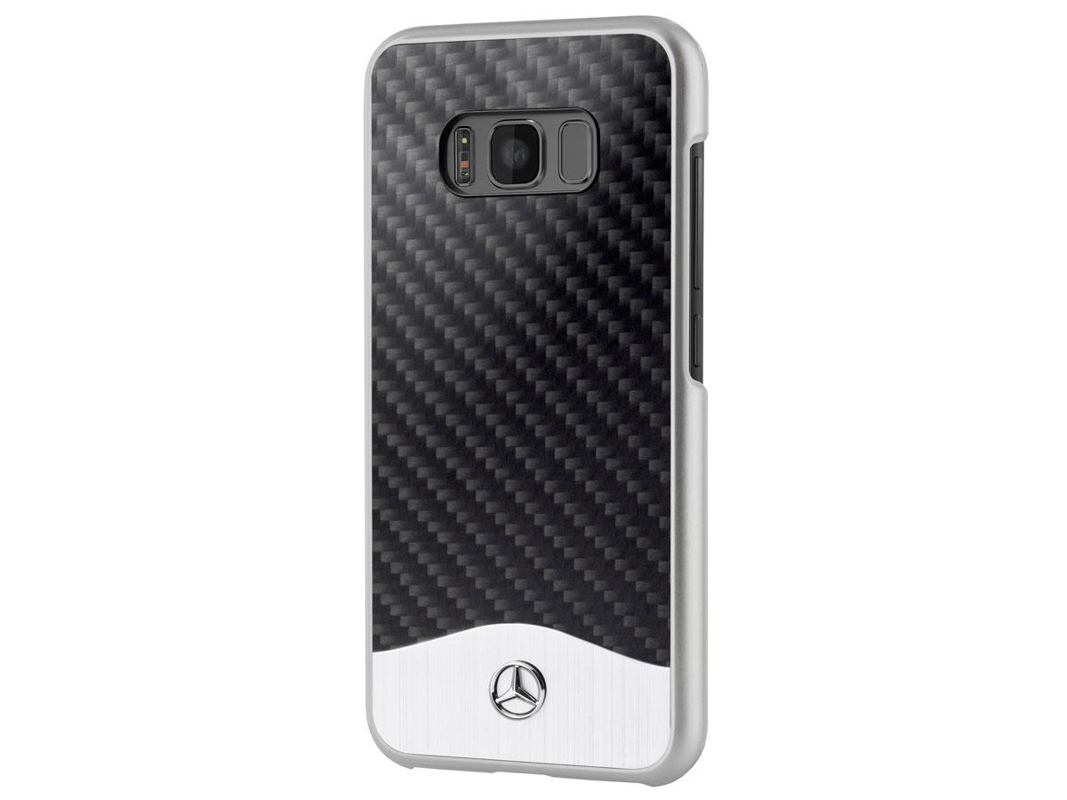 Mercedes Benz Samsung Galaxy S8 Hoesje Carbon Case