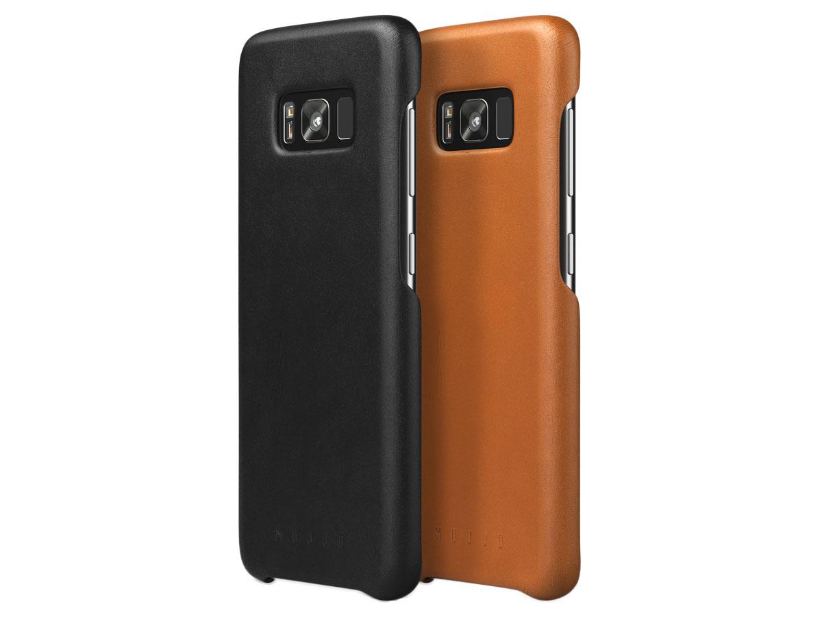 79c0cb47258 Mujjo Leather Case - Leren Samsung Galaxy S8 hoesje ...