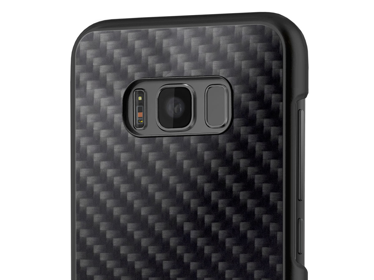 BMW Carbon Hard Case - Samsung Galaxy S8+ hoesje