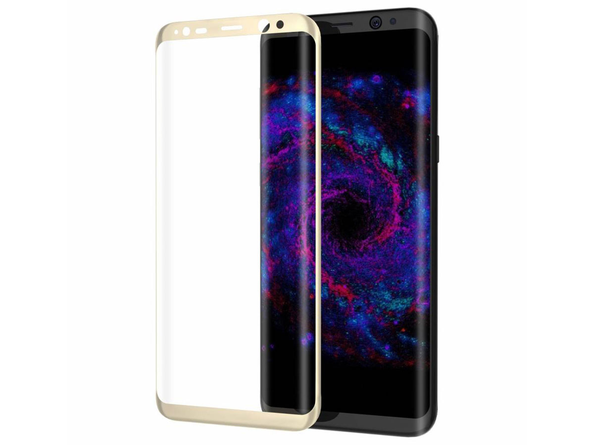 Samsung Galaxy S8 Screenprotector Curved Glass 3d