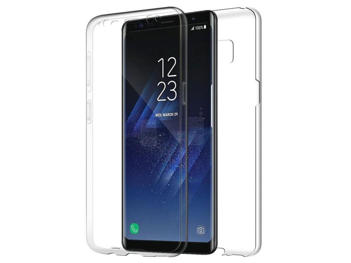 huge discount 5aeb8 c858c Crystal 360 TPU Case - Doorzichtig Galaxy S8+ hoesje