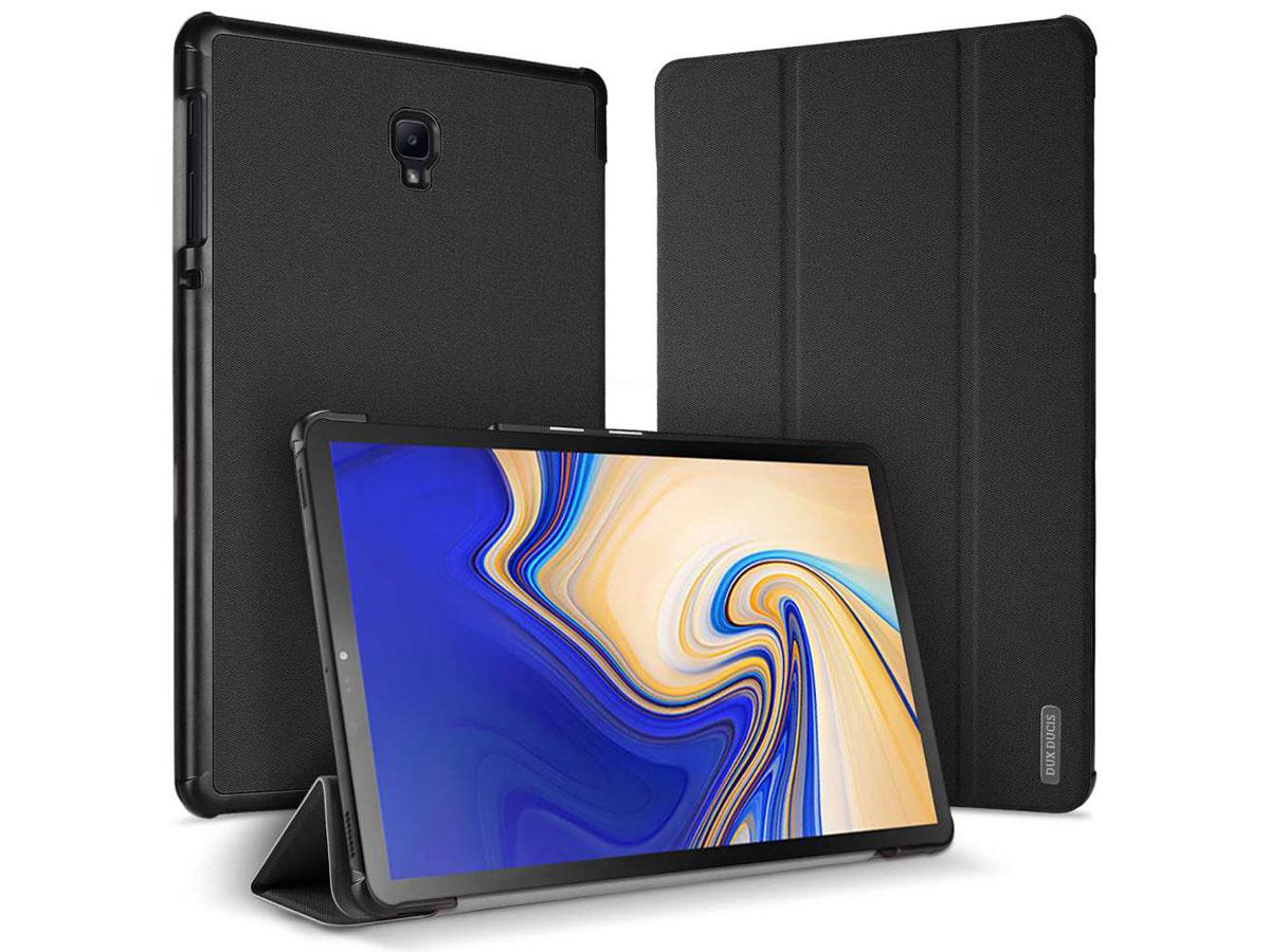 Dux Ducis Trifold Case Zwart - Galaxy Tab S4 hoesje