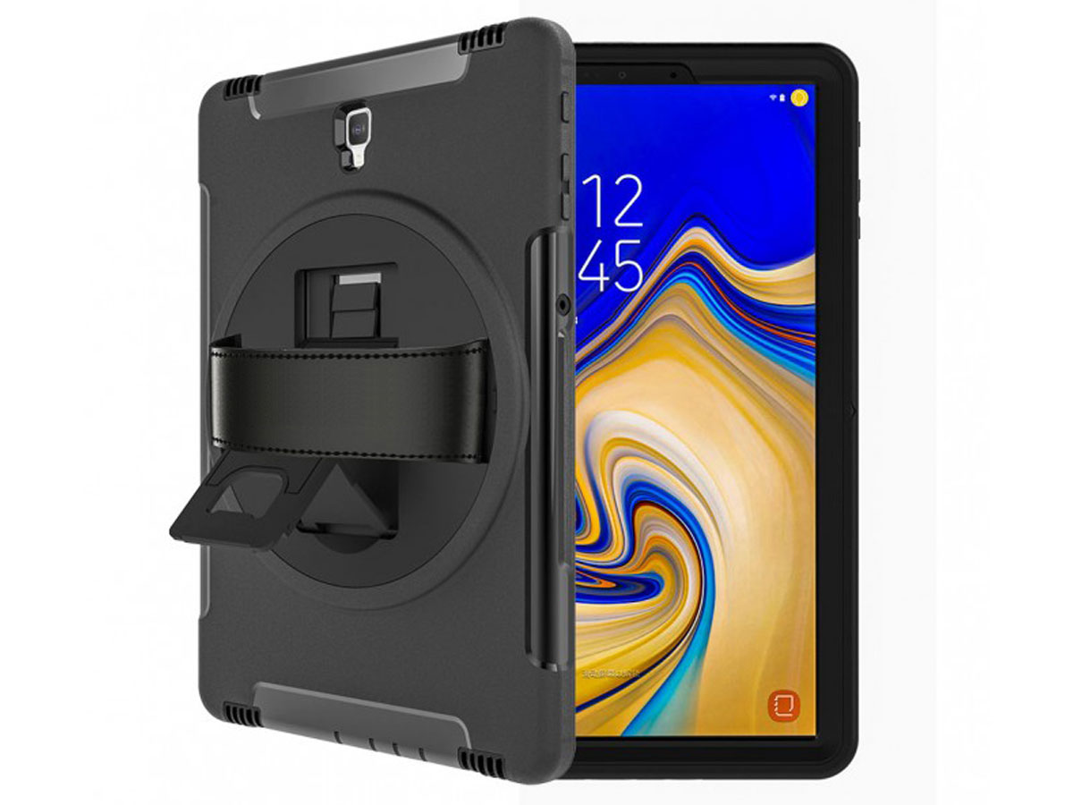 Airstrap Handvat Case - Rugged Galaxy Tab S4 Hoesje