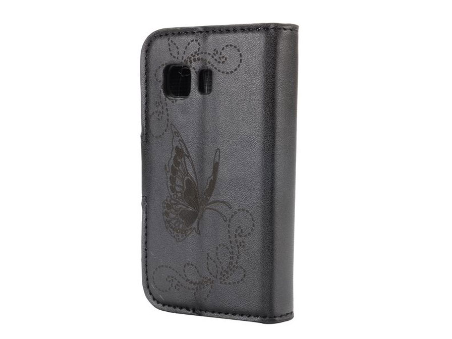 Butterfly Book Case - Hoesje voor Samsung Galaxy Young 2