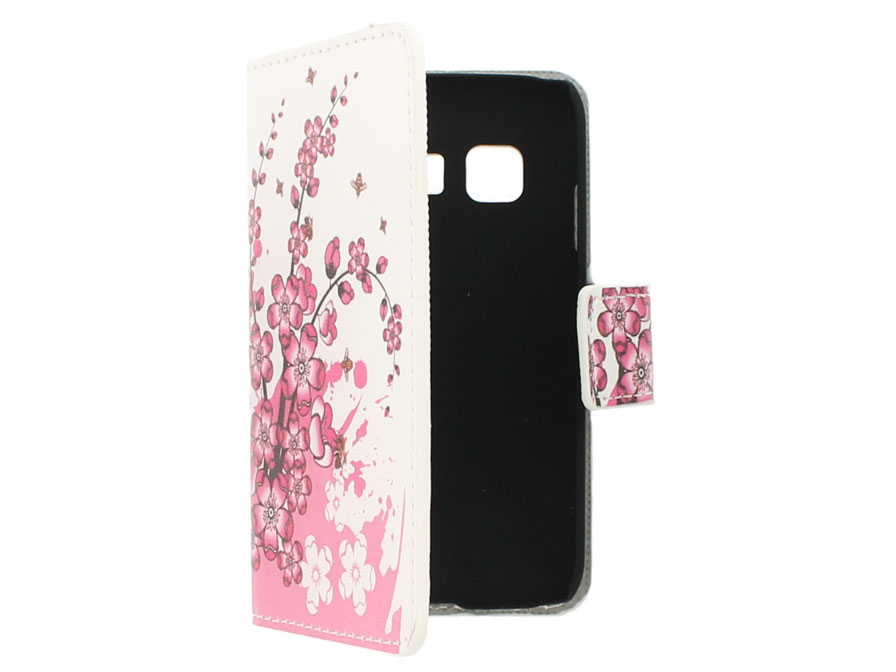 Blossom Wallet Case - Samsung Galaxy Young 2 hoesje