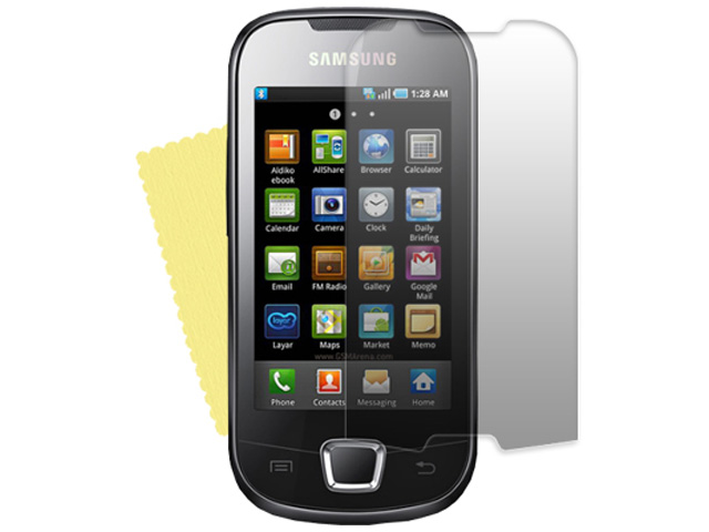 Clear Screenprotector Samsung Galaxy Apollo i5800