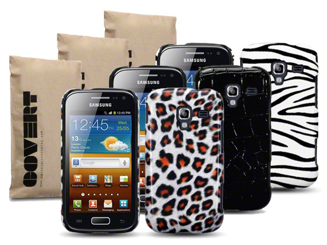 Covert Safari Back Case Hoesje voor Samsung Galaxy Ace 2 (i8160)