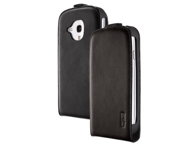 Artwizz Seejacket Leather Flip+ Case voor Galaxy S3 Mini (i8190)