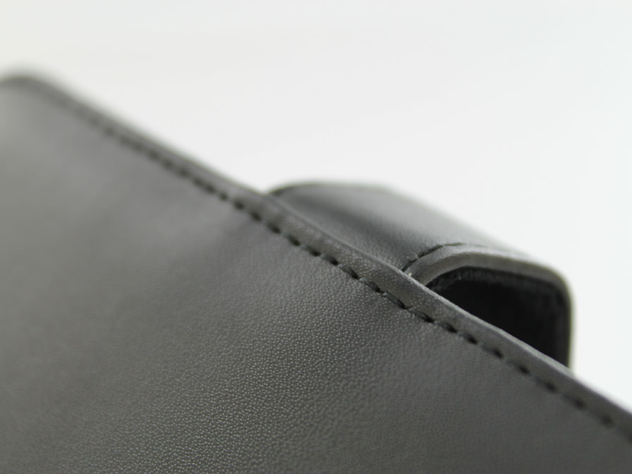 Classic Leather Book Case - Samsung Galaxy S3 mini hoesje