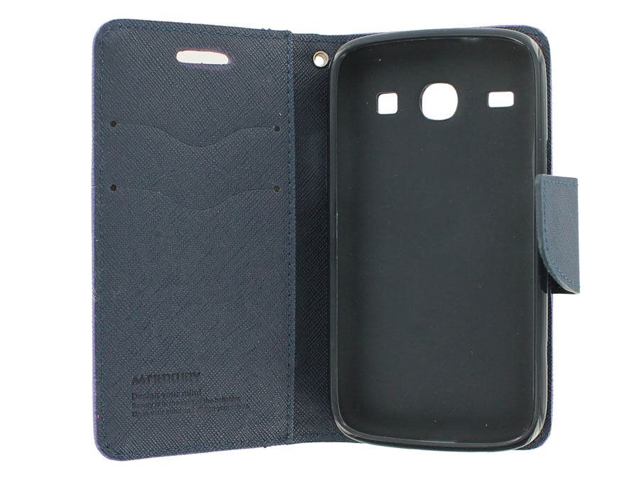 Color Sideflip Case - Hoesje voor Samsung Galaxy Core (i8260)