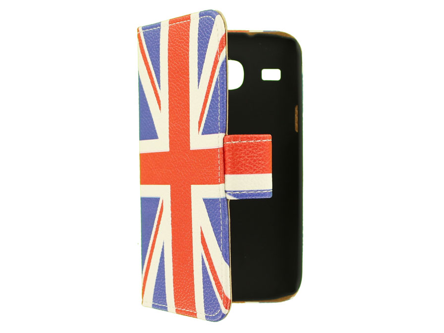 Great Brittain Book Case Hoesje voor Samsung Galaxy Core (i8260)