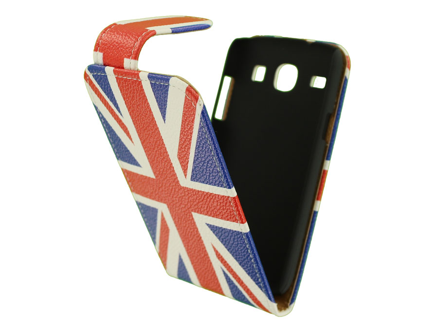 Great Brittain Flip Case Hoesje voor Samsung Galaxy Core (i8260)
