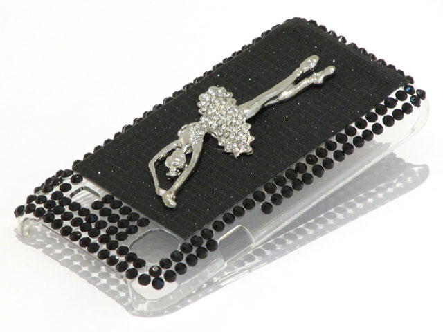 Ballerina Diamond Back Case Hoes voor Samsung Galaxy S (Plus)