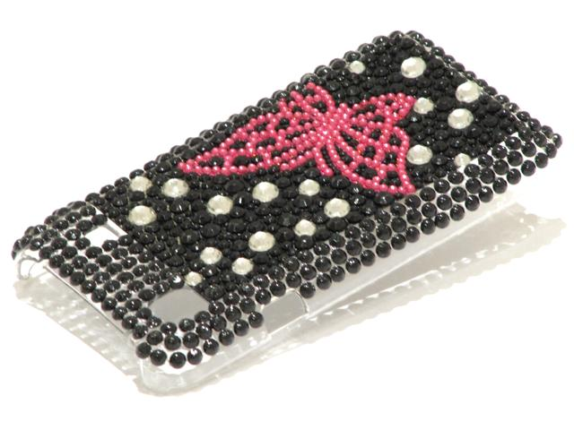 Butterfly Diamond Case Hoes Samsung Galaxy S (Plus)